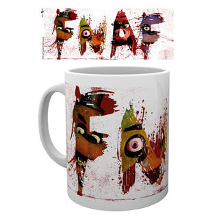 Taza Five Nights At Freddys Letters-