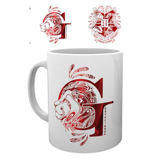 Taza Gryffindor Monogram Harry Potter-