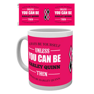 Taza Harley Quinn Be Yourself Dc-