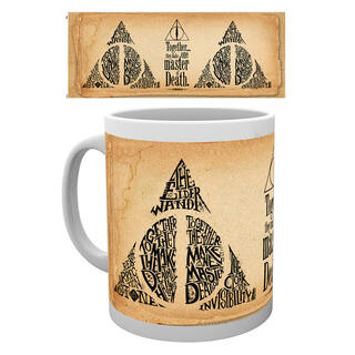 Taza Harry Potter Deathly Hallows Words-