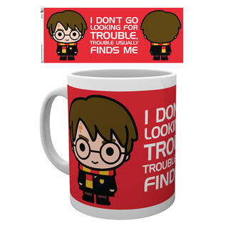 Taza Harry Potter Front and Back-