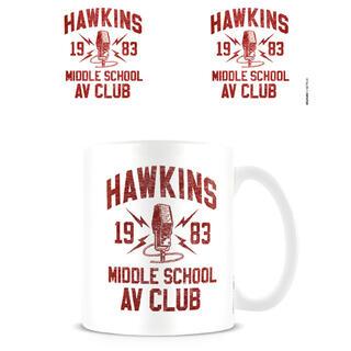 Taza Hawkins Middle School Av Club Stranger Things-