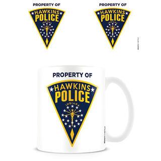Taza Hawkins Police Badge Stranger Things-