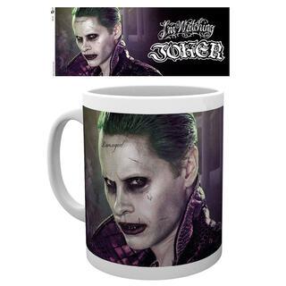 Taza Joker Escuadron Suicida Dc Comics-