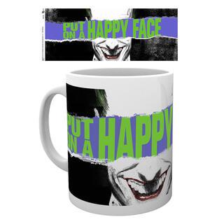 Taza Joker Happy Face Dc Comics-