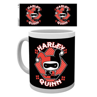 Taza Justice League Harley Quinn Chibi Dc-