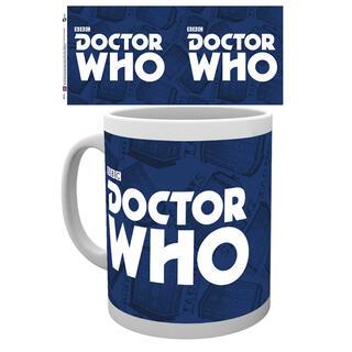 Taza Logo Doctor Who-