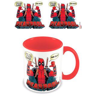 Taza Loves Coffee Deadpool Marvel-