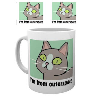 Taza Outerspace Rick and Morty-
