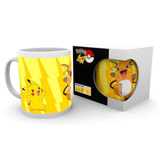 Taza Pikachu Evolve Pokemon-