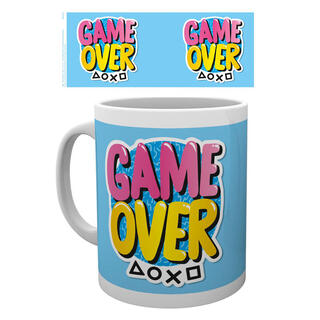 Taza Playstation Game Over-