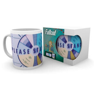 Taza Please Stand By Fallout 76-