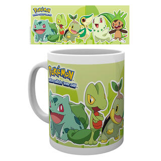 Taza Pokemon Grass Partners-