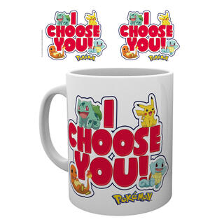 Taza Pokemon I Choose You-