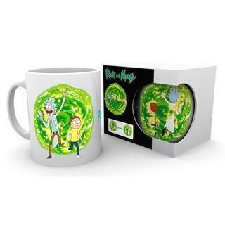 Taza Portal Rick & Morty-