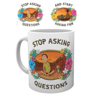 Taza Questions Rick and Morty-