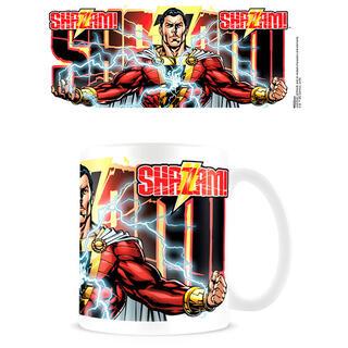 Taza Rayo Shazam Dc Comics-