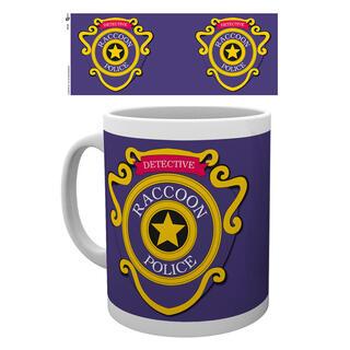 Taza Resident Evil Racoon Police-