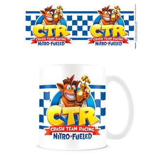 Taza Team Racing Crash Bandicoot-
