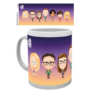 Taza The Big Bang Theory Characters-
