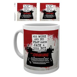 Taza The Shining Typewriter-