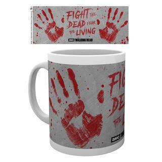Taza The Walking Dead Hand Prints-
