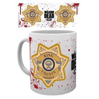 Taza The Walking Dead Sheriff Badge-