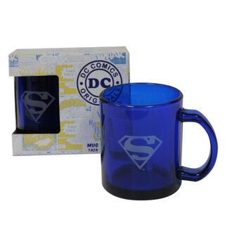Taza Transparente Superman Dc Comics-