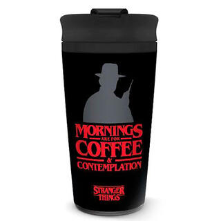 Taza Viaje Coffe and Contemplation Stranger Things-