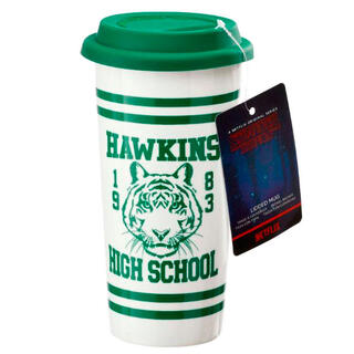 Taza Viaje Hawkins High School Stranger Things-