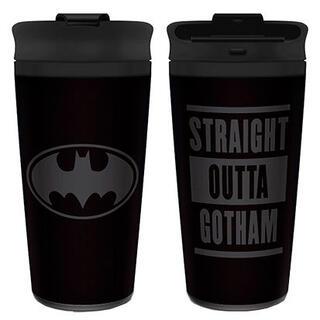 Taza Viaje Straight Outta Gotham Batman Dc Comics-