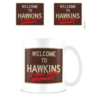 Taza Welcome To Hawkins Stranger Things-