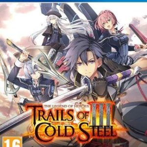 The Legend of Heroes: Trails of Cold Steel 3-Sony Playstation 4