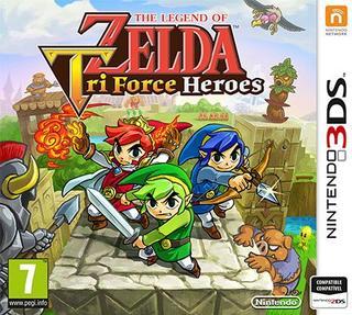 The Legend of Zelda: Tri Force Heroes-Nintendo 3DS