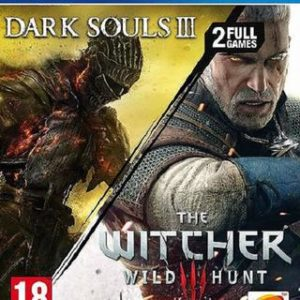 The Witcher 3 + Dark Souls 3-Sony Playstation 4