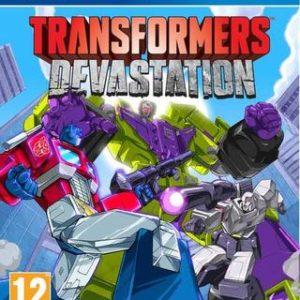 Transformers: Devastation-Sony Playstation 4
