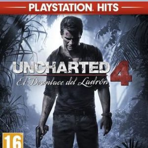 Uncharted 4: El Desenlace del Ladrón (Playstation Hits)-Sony Playstation 4