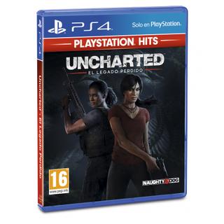 Uncharted El Legado Perdido (Playstation Hits)-Sony Playstation 4