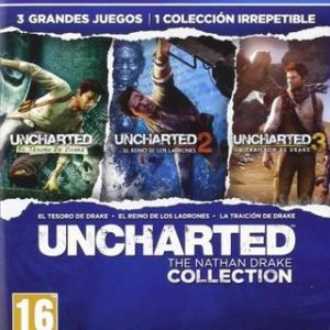 Uncharted The Nathan Drake Collection-Sony Playstation 4