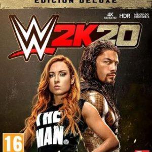 WWE 2K20 Edición Deluxe-Microsoft Xbox One