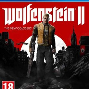 Wolfenstein 2: The New Colossus-Sony Playstation 4