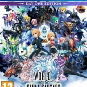 World of Final Fantasy-Sony Playstation 4