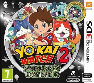 Yo-kai Watch 2: Fantasqueletos-Nintendo 3DS