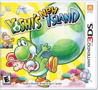 Yoshi's New Island-Nintendo 3DS